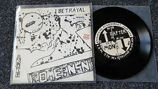 Nomeansno - Betrayal Fear Anger Hatred 7'' EP Single