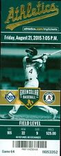 2015 Oakland A's vs Rays Ticket: Drew Smyly gets win/Desmond Jennings Home Run