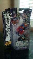 "BATMAN and SUPERMAN DC SUPER HEROES Justice League  3""  Brand New 2007"