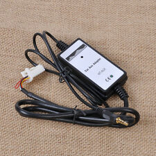Car Music CD Interface Adapter Audio 3.2mm AUX Input for Toyota Camry Corolla