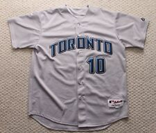 Majestic Toronto Blue Jays Jersey - Vernon Wells - Authentic Size 52  XL