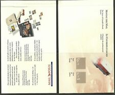 CANADA 1990 CANADA POST MAIL VANS BOOKLET UT 118