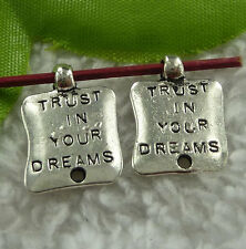 Free Ship 200 pieces tibet silver nice charms 18x13mm #2381
