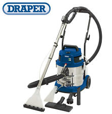 NEW DRAPER 20L Wet & Dry Industrial Vacuum/Vac Cleaner + Accessories 240v 75442