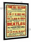Beatles Concert Poster Abergavenny, Wales 1963