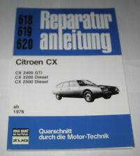 Reparaturanleitung Citroen CX 2400 GTI / 2200 + 2500 Diesel, Baujahre ab 1976