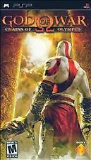 God of War Chains of Olympus UMD PSP GAME SONY PLAYSTATION PORTABLE