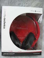 Audio-Technica ATH-AX3iS SonicFuel™ Over-ear Headphones for Smartphones Red