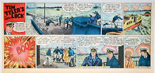 Tim Tyler's Luck by Young - WWII - full color Sunday comic page - Oct. 29, 1944