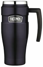 Thermos Stainless King 16 Ounce Travel Mug with Handle SK1000MBTRI4 BRAND NEW