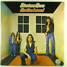 """12"""" LP - Status Quo - On The Level - A3694 - Swirl label - washed & cleaned"""
