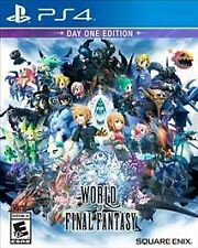 World of Final Fantasy: Day One Edition (Sony PlayStation 4, 2016) PS4 NEW