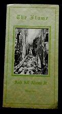 THE FLUME AND ALL ABOUT IT Illustrated 1938 5th Ed REV GUY & BLANCHE ROBERTS