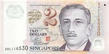 Singapore 2 Dollars 2006 Polymer Unc pn New