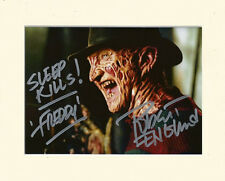 FREDDY KRUEGER NIGHTMARE ON ELM STREET PP MOUNTED 8X10 SIGNED AUTOGRAPH PHOTO