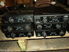 1 Used Relm SLU25  6 Channel - 25 Watt UHF Mobile Transceiver POWERS ON