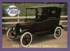 1916 Ford Model Town Car Imperial Palace Las Vegas Car Trading Card Not Postcard