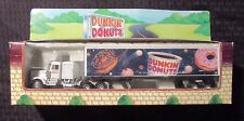 1995 DUNKIN DONUTS Diecast Toy Tractor & Trailer MIB 11.5""
