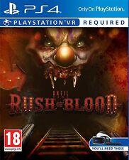 Hasta el amanecer: Rush de sangre VR PS4