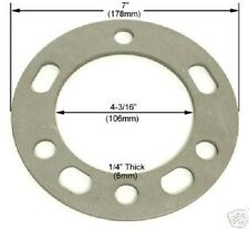 """4 Pc Toyota Wheel Spacers 6 Lug x 5.50 or 139.7 1/4"""" Inch Thick Part # AP-603"""