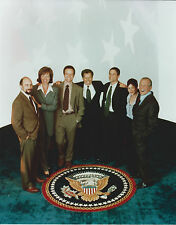 WEST WING CAST 8 X 10 PHOTO WITH ULTRA PRO TOPLOADER