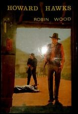 HOWARD HAWKS - Robin Wood - SPAIN LIBRO / Book Ediciones JC 1982 - Cine - 1ª Ed.