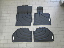Genuine BMW F25 X3 Tailored Rubber Floor Mats