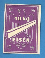 Germany 10 Kg. Metal  Revenue Stamp