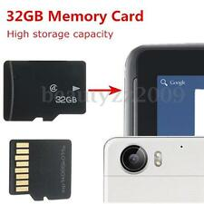 New 32GB Micro High Capacity Secure SD/TF Trans-Flash Memory Card Class 4