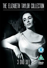 THE ELIZABETH TAYLOR COLLECTION - DVD - REGION 2 UK