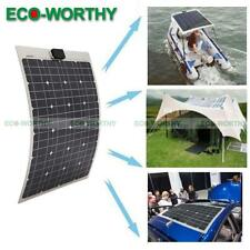 40W 12V  Mono Semi Flexible Solar Panel Charge for Camping Boat Yacht  Caravan