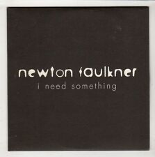 (HB692) Newton Faulkner, I Need Something - 2007 DJ CD