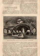 PARIS EXPOSITION UNIVERSELLE EXIBITION AQUARIUM D EAU DOUCE PRESS ARTICLE 1867