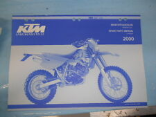 2000 KTM 400 SXC USA Chassis Spare Parts Manual 320490