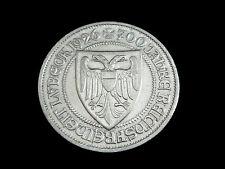 Dt. Reich-Weimar, 3 Reichsmark, 1926 A, Lübeck, Silber.! orig.! vz/St.!