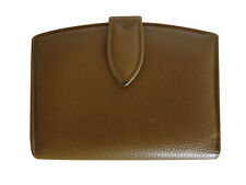 RARE~COACH~MADISON~CAMEL~BROWN~LEATHER~KISSLOCK~COIN~CLUTCH~WALLET~ITALY