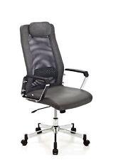 Poltrona sedia per ufficio direzionale di colore grigio arredo ufficio design