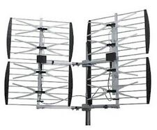 Free 2 day Deliver-- Dual Quad (8) Bay Outdoor UHF/HDTV Bowtie Antenna - 80 Mile