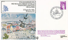 17 NOV 1981 110th ANNIVERSARY REGULAR CARRIAGE OF MAIL MEN BALLOON FLOWN COVER