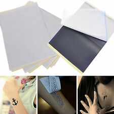 Yeah 5 Sheets Tattoo Transfer Carbon Paper Supply Tracing Copy Body Stencil