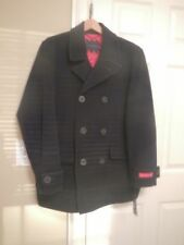 TOMMY HILFIGER WOOL MENS PEACOAT WINTER JACKET (NEW) - -NO.1