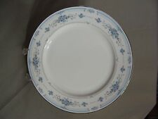 "1 Nitto China 10 3/4"" Dinner Plate In The Claridge Pattern #W76, Japan"