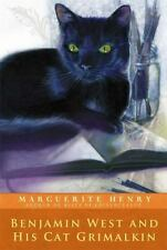 Benjamin West and His Cat Grimalkin by Marguerite Henry (2014, Paperback)