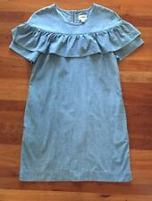 J.Crew Edie dress in chambray Sz 6 $98 CURRENT ITEM