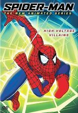 Spider-Man: The New Animated Series - High Voltage Villains (DVD, 2004)