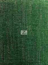 "SPARKLE CHENILLE UPHOLSTERY FABRIC - Hunter Green - 57"" WIDTH SOLD BY THE YARD"