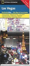 Map of Las Vegas, Nevada, by National Geographic Destination Map