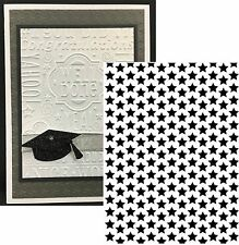 Darice Embossing Folders Tiny small STARS Folder 1218-62 Cuttlebug Compatible
