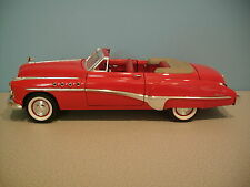 1:18 Scale Collectible RED 1949 BUICK DYNAFLOW CONVERTIBLE Die-cast By Motor Max