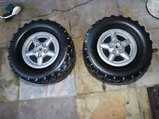 Fisher Price Power Wheels Jeep Wrangler Tires Wheels Hub Caps